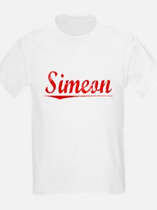 Simeon, Vintage Red T-Shirt