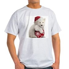 Polar Bear Cub Christmas T-Shirt