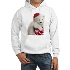 Polar Bear Cub Christmas Hoodie