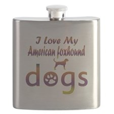 American Foxhound designs Flask