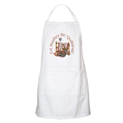 Rather Be Quilting Apron