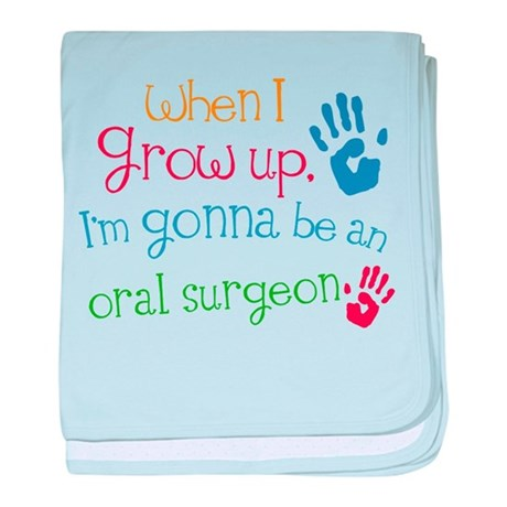 Future Oral Surgeon baby blanket