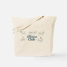 Breakfast Club Doodle Tote Bag