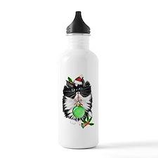 A Tuxedo Merry Christmas Water Bottle