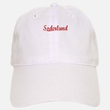 Soderlund, Vintage Red Baseball Baseball Cap