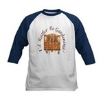 I'd Rather Be Gardening Kids Baseball Jersey