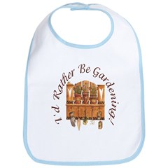 I'd Rather Be Gardening Bib