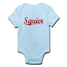 Squier, Vintage Red Infant Bodysuit