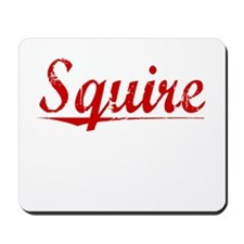Squire, Vintage Red Mousepad