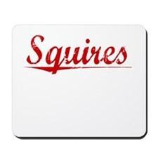 Squires, Vintage Red Mousepad