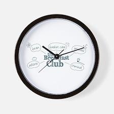 Breakfast Club Doodle Wall Clock