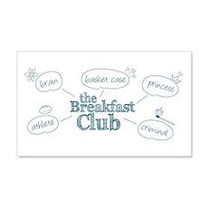 Breakfast Club Doodle Wall Decal