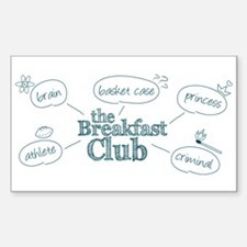 Breakfast Club Doodle Decal