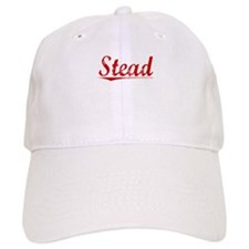 Stead, Vintage Red Baseball Cap