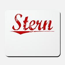 Stern, Vintage Red Mousepad