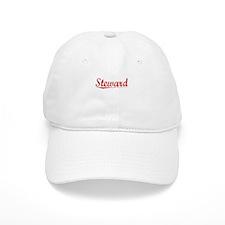 Steward, Vintage Red Baseball Cap