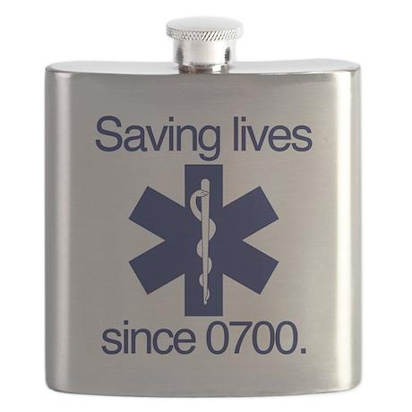 Saving lives since 0700. Flask