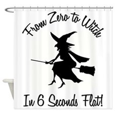 FROM ZERO TO... Shower Curtain