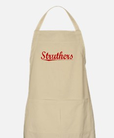 Struthers, Vintage Red Apron