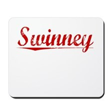Swinney, Vintage Red Mousepad