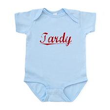 Tardy, Vintage Red Infant Bodysuit