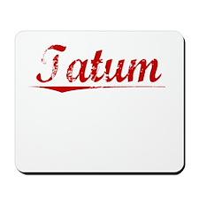 Tatum, Vintage Red Mousepad
