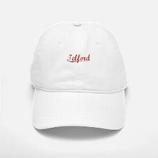 Telford, Vintage Red Baseball Baseball Cap