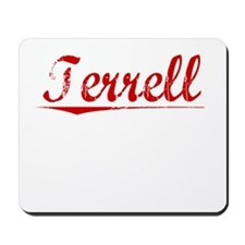 Terrell, Vintage Red Mousepad