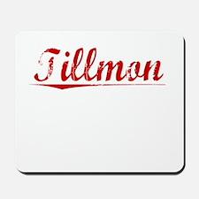 Tillmon, Vintage Red Mousepad