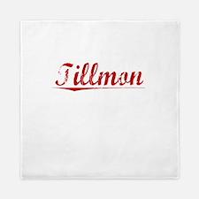 Tillmon, Vintage Red Queen Duvet