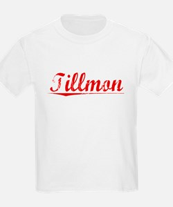 Tillmon, Vintage Red T-Shirt