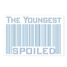 The Youngest Boy Spoiled Postcards (Package of 8)