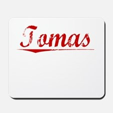 Tomas, Vintage Red Mousepad