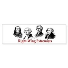 Extremists II Bumper Bumper Sticker