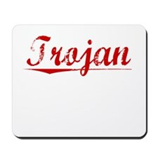 Trojan, Vintage Red Mousepad