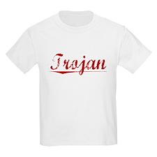Trojan, Vintage Red T-Shirt