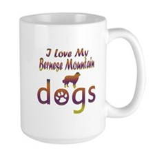Bernese Mountain designs Mug