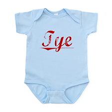 Tye, Vintage Red Infant Bodysuit
