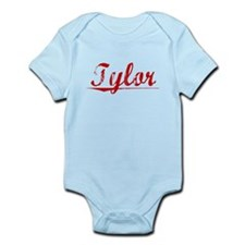Tylor, Vintage Red Infant Bodysuit