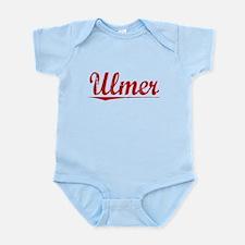 Ulmer, Vintage Red Infant Bodysuit