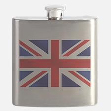 Union Jack UK Flag Flask