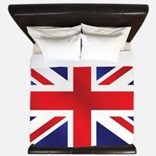 Union Jack UK Flag King Duvet