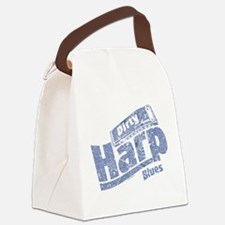 Dirty Harp Blues Canvas Lunch Bag