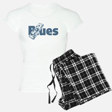 Harmonica Blues Pajamas