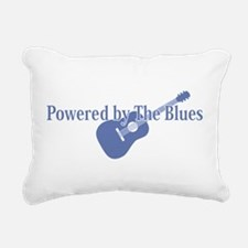 Blues Power Rectangular Canvas Pillow