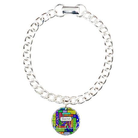 Nurse Vertical 1.PNG Charm Bracelet, One Charm