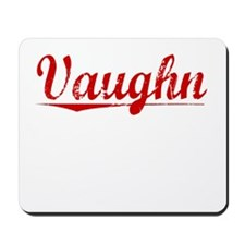 Vaughn, Vintage Red Mousepad