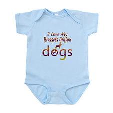 Brussels Griffon designs Infant Bodysuit