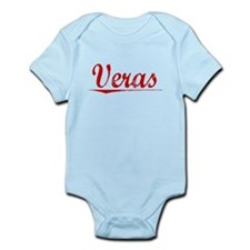 Veras, Vintage Red Infant Bodysuit