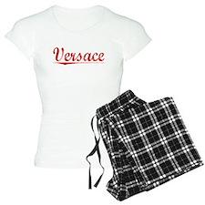 Versace, Vintage Red Pajamas